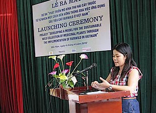 TRAFFIC Launches Sustainable Wild Medicinal Plant Project In Vietnam