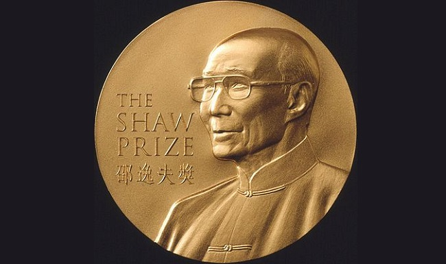 2015 Laureates Of The Shaw Prize Announced