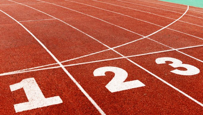 Running track first second third ranking lists shutterstock_218569918
