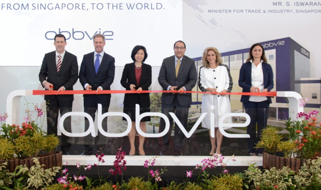 Abbvie Opens Api Manufacturing Facility In Singapore