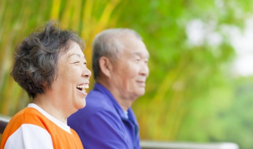 What asian care of the elderly